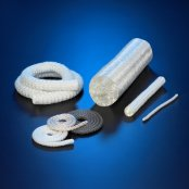 high temperature and heat resistant fireproof fiberglass knitted soft rope