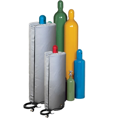 compressed gas cylinder insulated heater cover csa hazardous area approved