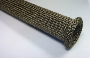 Basalt Knit Sleeve Engine Generator Pipe Protection