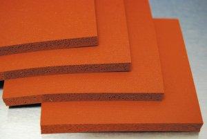 Closed Cell Silicone Sponge Foam High Temperature Heat