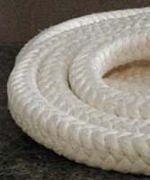 square braided fiberglass rope high temperature