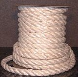 twisted fiberglass rope