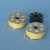 High temperature heat flame resistant thread on bobbins