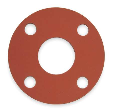 Red Rubber Flange Gasket