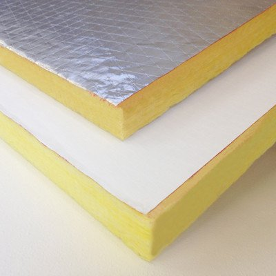 High temperature heat and flame resistant thermal for Fiberglass wool insulation