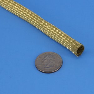Brass Braided Sleeve