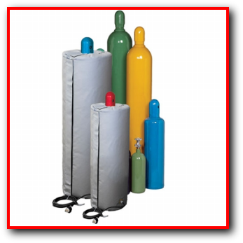 Compressed Gas Cylinder Electrically Heated Insulated