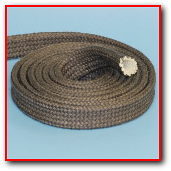 High Temperature Graphite Coated Fiberglass Sleeve Wire Cable Hose Protection