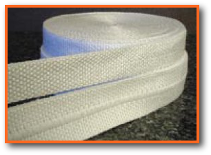 High Temperature Heat Chemical Resistant PTFE Teflon Coated Fiberglass Woven Tape