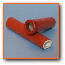 SAE AS1072 Firesleeve with end sealed with liquid silicone rubber