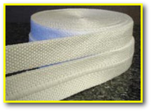 InSilMax Silica Woven Tape Plain Ladder Bolt-Hole