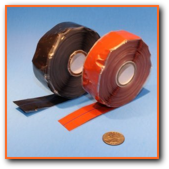Heat Trace High Temperature Self Fusing Securing Tape