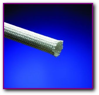 Alumina High Temperature Heat Resistant Braided Sleeve