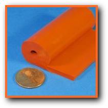 Silicone Rubber Extruded Tadpole P Gasket Flange Seal