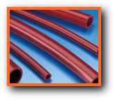 High Temperature Heat Weld Splatter Resistant Silicone Rubber Oxide-Red Tubing