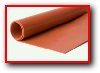 Weld Splatter Resistant FlameShield Silicone Rubber Sheeting