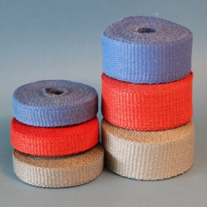High Temperature Heat Resistant Woven Color Coded Fiberglass Tape