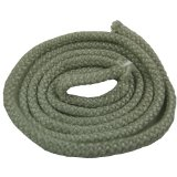 high temperature heat resistant graphite coated fiberglass rope soft