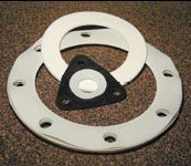 High Temperature and Chemical Resistant PTFE Teflon Ring and Full Face Gaskets