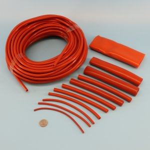 Heat Resistant Hose >> High Temperature Heat Resistant Silicone Rubber Tubing Oxide Red