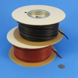 Small diameter firesleeve for wire protection